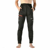 ROCKBROS Thermal Fleece Winter Cycling Casual Pants Windproof Outdoor Trousers