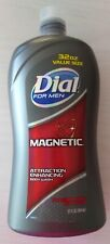 DIAL FOR MEN MAGNETIC ATTRACTION ENHANCING PHEROMONE INFUSED BODY WASH  32 FL OZ