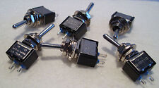 2K281 6 x Mini SPST On-Off Switches Ideal fr Model Railway/Railroad Use 2nd Post