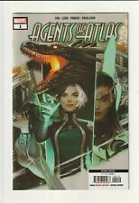 AGENTS OF ATLAS #1 2ND PRINT NEW ART REMENAR VARIANT MARVEL COMICS ISAAC IKEDA