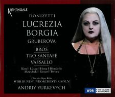 ██ OPER ║ Gaetano Donizetti (*1797) ║ LUCREZIA BORGIA ║ Edita Gruberova ║ 2CD