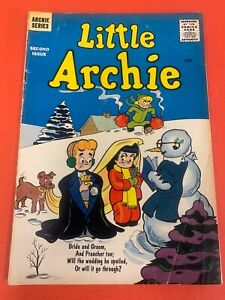LITTLE ARCHIE  # 2 (1956 ARCHIE)  VINTAGE COMIC BOOK