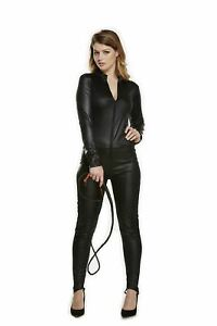 ADULT CATSUIT COSTUME HORROR HALLOWEEN FANCY DRESS OUTFIT