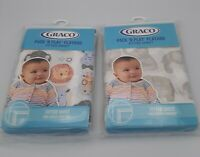 GRACO PACK & PLAY PLAYARD FITTED SHEET ELEPHANTS OR SAFARI ANIMALS NWT