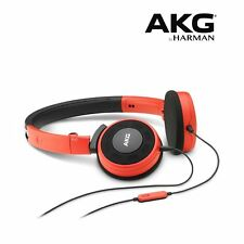 AKG Y 30 Red by Harman Foldable Headphones With 1 Button Universal Remote / Mic