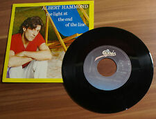 """Single 7"""" ALBERTO HAMMOND - the light an the end of the line 1982 TOP!"""