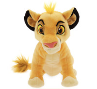 DISNEY Lion King Simba Mini Bean Bag Soft Toy Plush 18cm **NEW**