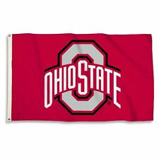 NCAA Ohio State Buckeyes 2 Ft. X 3 Ft. Flag with Grommets,One Size