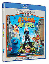 MONSTERS VS ALIENS (3D) NEW DVD