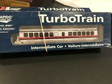 Rapido AMTRAK TurboTrain TurboCoach #72 HO 1:87 Unused