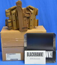 NEW BLACKHAWK 430504CT-L Serpa Level 2 Tactical Holster in Coyote Brown
