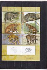 Argentinien, Wildkatzen,2253 - 2258, Postfrisch, MNH,