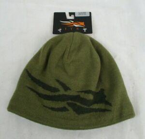 Sitka Gear Men's Large Logo Moss Beanie 90165 NWT