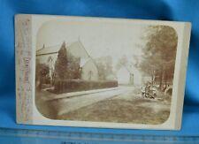 Scarce 1880/90s Cabinet Card Photo Glastonbury Chapel Walter Tulley Station Road