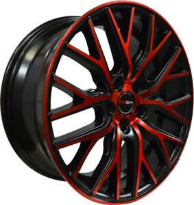 4 G43 20 inch Crimson Red Rims fits JAGUAR XJ8 SUPER V8 2005 - 2009