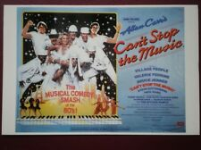 POSTCARD  FILM POSTER - CAN'T STOP THE MUSIC