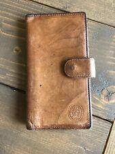 Vintage Tommy Hilfiger Unisex Brown Leather Bill-Fold Clutch Wallet Organizer