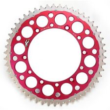 Renthal 50T Twin Ring Rear Sprocket Red 1540-520-50RD - Honda CRF450R 02 - 16