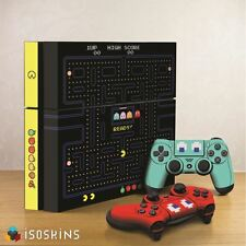 Isoskin® Retro Pac Man Game Black and Yellow Playstation 4 (PS4) Skin Decal