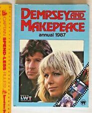 VINTAGE DEMPSEY & MAKEPEACE TV SERIES PHOTO BOOK ANNUAL HB UK WORLD DISTRIBUTORS