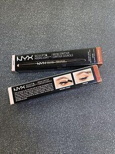 NYX Sculpt & Highlight Brow Contour Soft Pink Auburn (2 Pack)
