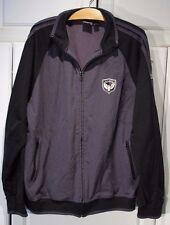 Great mens gray & black zippered jacket Coat by Billabong size XXL 2XL
