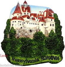 Bran Castle Dracula Transylvania Romania Refrigerator 3D Fridge Magnet