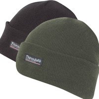 Knitted Hat Watch Cap Thermal Thinsulate Winter Military Warm Beanie Green Black