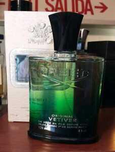 Creed Original Vetiver 4.0 oz Eau De Parfum 120 ml Spray For Men *Rare Box