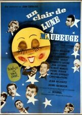 affiche du film UN CLAIR DE LUNE A MAUBEUGE 60x80 cm