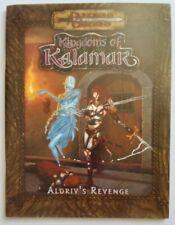 ALDRIV'S REVENGE Kingdoms of Kalamar  RPG Dungeons & Dragons 1st Level Character