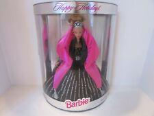 Mattel Barbie Doll 1998 Happy Holidays Barbie Black Gown Nib #20200