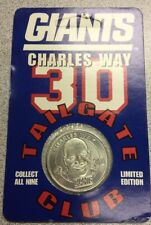 1998 NY Giants Tailgate Club - Charles Way Coin - Limited Edition