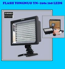 ANTORCHA FOCO FLASH YONGNUO YN-160s LEDS CAMARA VIDEO ESTUDIO CANON NIKON SONY