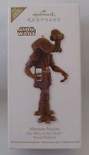 Hallmark 2012 Star Wars Momaw Nadon New Hope Special Edition Christmas Ornament