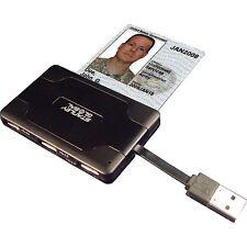 Stanley Global SGT121 CAC Smart Card, Multi-Memory, SDXC, SIM Reader