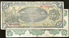 MEXICO p s1104, PS1104  (1914) , 5 PESO., Fine