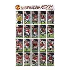 MANCHESTER UNITED MAN UTD SQUAD PHOTO POSTER NEW SP0368 X27