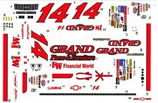 #14 John Andretti Grand Piano 1/64th - HO Scale Slot Car Decals