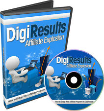 How You Can Sell Your Product on the Digiresults.com Platform - Videos on 1 CD