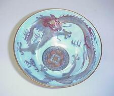 Wedgwood Fairyland Lustre Celestial Dragon Compote Bowl 1900's Gorgeous