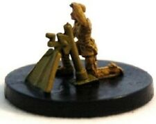 Axis & Allies miniatures 4x x4 Romanian Mortar Counter Offensive 1941-1943 NM wi