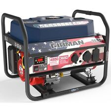 Firman Performance Series Gas Powered 4550W Portable Generator P03611