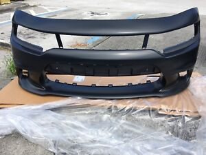 2015-2020 NeW OEM Dodge Charger Hellcat Scatpack Front Bumper Conversion SRT 392
