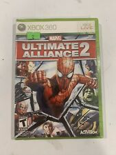 Marvel: Ultimate Alliance 2 (Microsoft Xbox 360, 2009) NEW SEALED