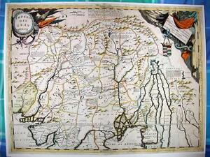 Antique map, Impero Del Gran Mogol