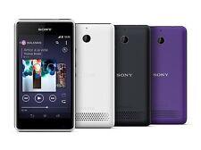 NUEVO Sony Xperia E1-4gb - Púrpura Desbloqueo Inteligente Teléfono Todo redes