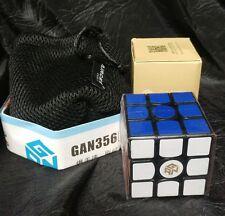 Aircee GAN 3-56s Gan356s V2 Ganspuzzle 3x3 Speedcube Puzzle Black With bonus Bag
