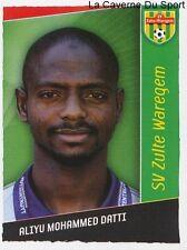 375 ALIYU MOHAMMED DATTI NIGERIA KSV.ZULTE WAREGEM STICKER FOOTBALL 2007 PANINI