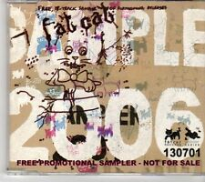 (EX931) Fat Cat sampler, 17 tracks various artists - 2006 DJ CD